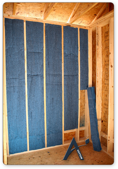Cotton batt denim insulation warren michigan applegate cotton denim batt insulation solutioingenieria Image collections